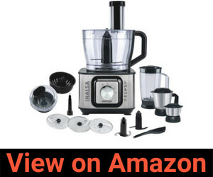 Inalsa INOX 1000-Watt Food Processor Review