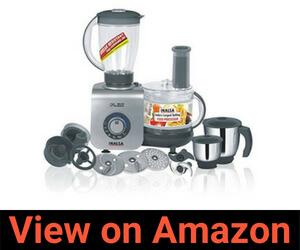 Inalsa Maxie Premia 800-Watt Food Processor Review